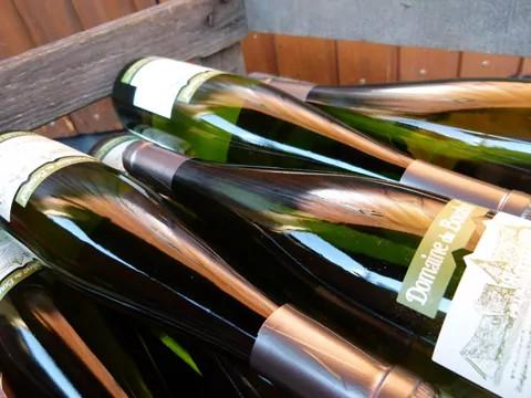 Vin rouge pinot noir d'Alsace
