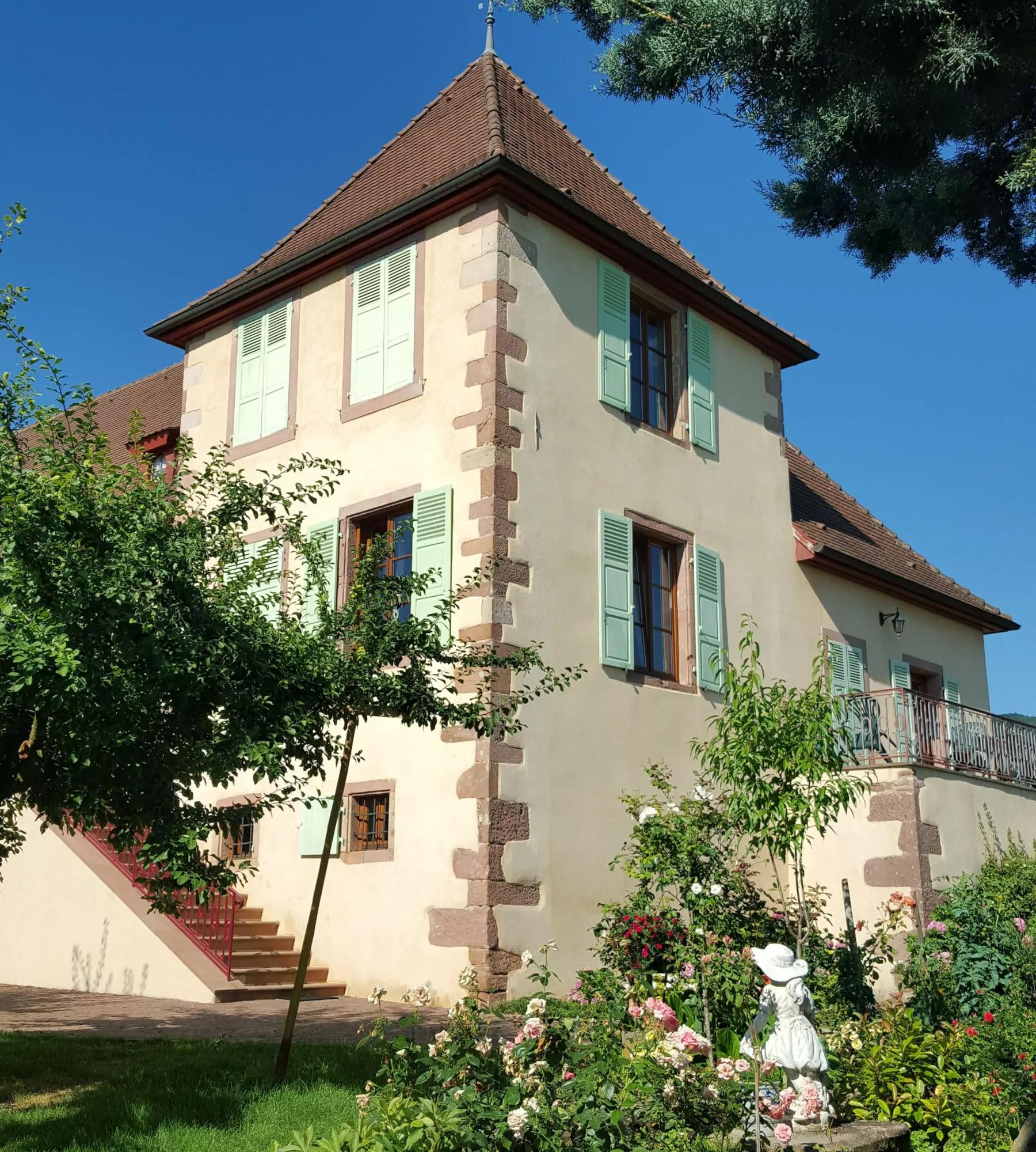 Domaine du Bouxhof : Gite proche de Colmar dans une tour
